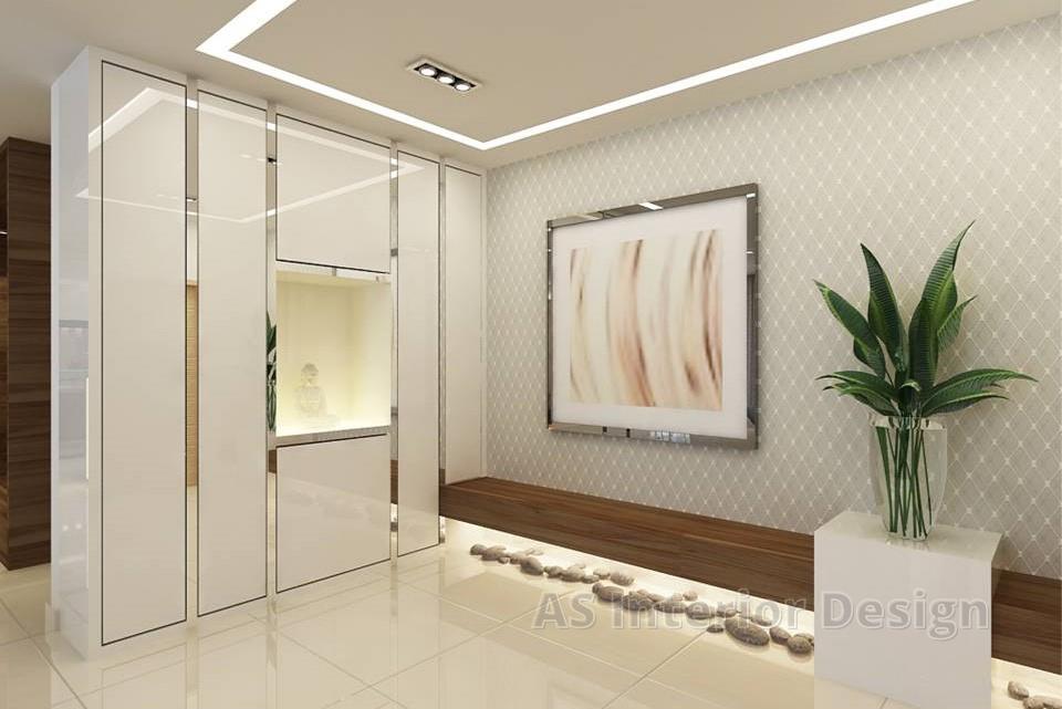 Cluster _ Adda Heights - Entryway Wall