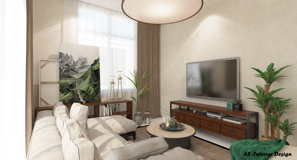AS Interior Design - Family Hall