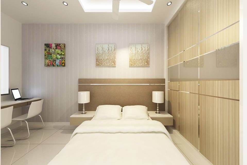 Bright and Modern Terrace Design - Bedroom 3