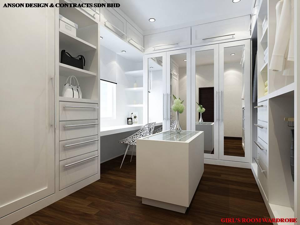 AS Interior Design - Bedroom Dressing Area