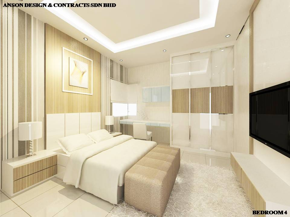 AS Interior Design - Master Bedroom