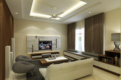 Terrace @ Impian Heights - Living Hall