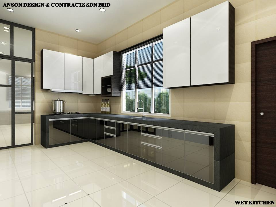 AS Interior Design - Wet Kitchen