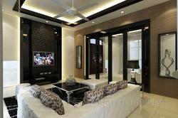 Modern Bungalow Design - Entertainment Room