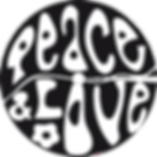 enjoliveur vélo peace and love