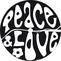 enjoliveur vélo peace and love