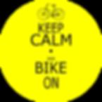 habillage roue vélo keep calm