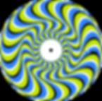publicité roue vélo spirale