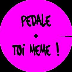 enjoliveur vélo pedale