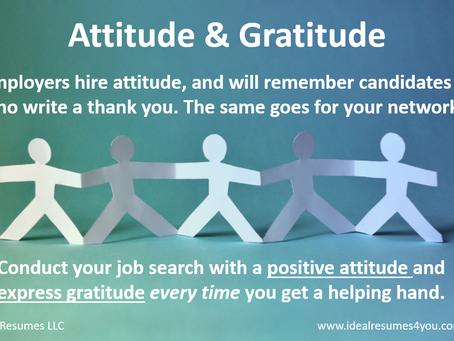 Attitude & Gratitude