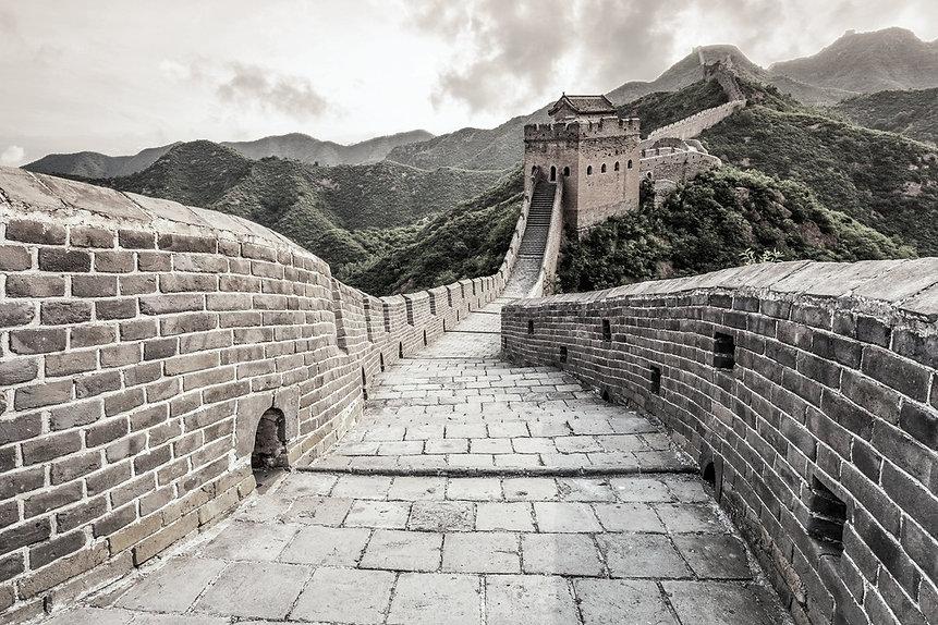 Qi sense, Great Wall of China