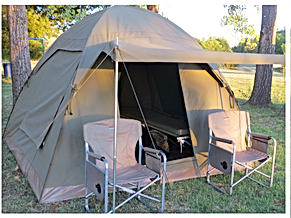 TangleWood Nature Estate Budget Tent