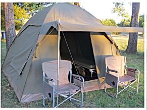 TangleWood Nature Estate Budget Tent