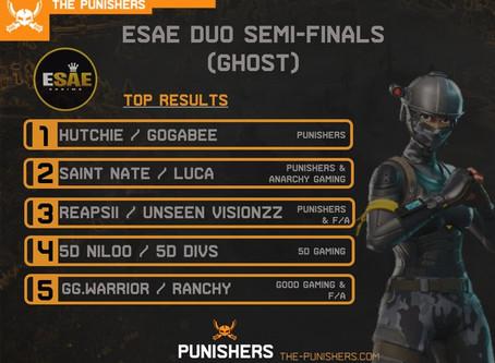 ESAE Semi Finals (Ghost) - 15 May 2020
