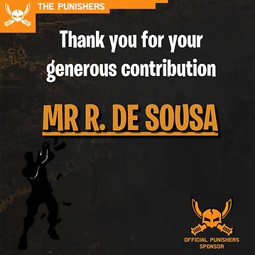 Sponsor Thank you - Mr R De Sousa.png