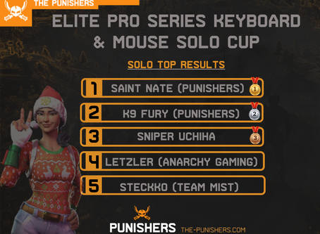 Punishers On Top! EPS Solo Cup 27 April 2020