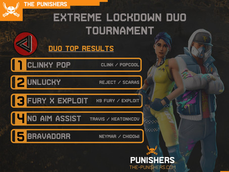 Extreme Lockdown Duos with Mega Gaming 10 May 2020