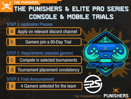 Punishers Console & Mobile Trials Announced 13 May 2020