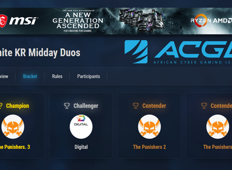 Punishers do it again! ACGL KR Midday Duos 23 April 2020