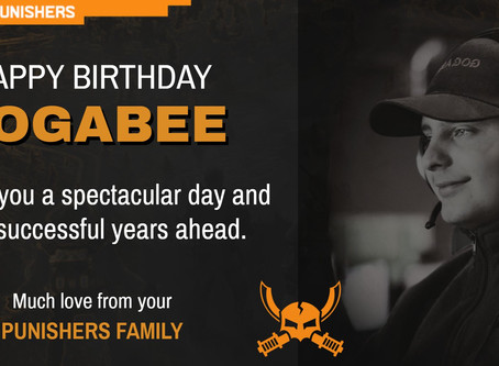 Happy Birthday 19th Gogabee  9 May 2020