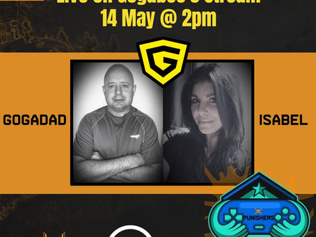 Gogadad and Isabel Live on Stream  14 May 2020