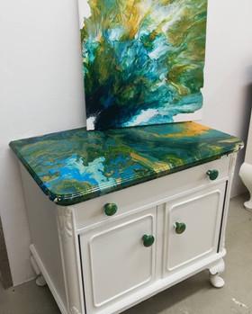 Fluid Furniture Art