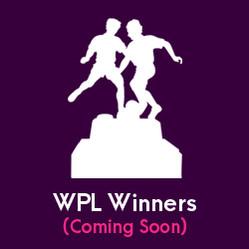 WPL Winners