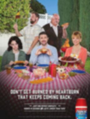 Steve Olson Steve Olsen actor commercials Richard Riehle Pepcid burns family