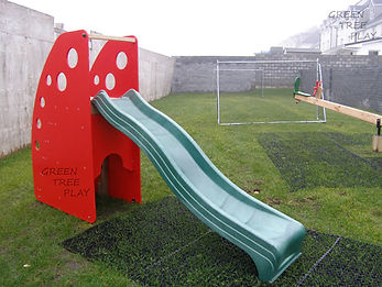 commercial playgrounds Ireland, playhouses for creche, climbing frames for school.