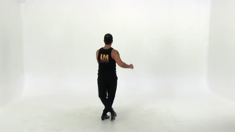 Solo salsa steps shines