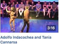 Adolfo Indacochea and Tania Cannarsa