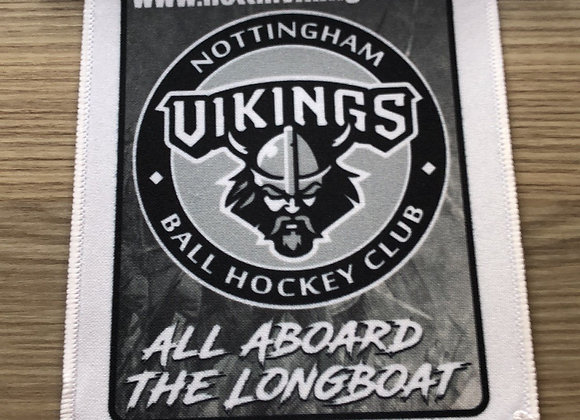 Vikings Printed Pennant Flag (with wooden flag holder and sucker hook)