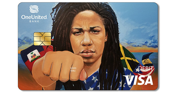 OneUnited Bank Justice Visa Debit Card