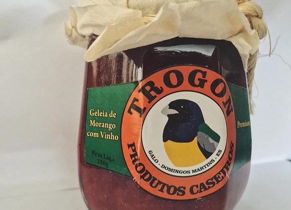 Geleia de Morango com Vinho 250g