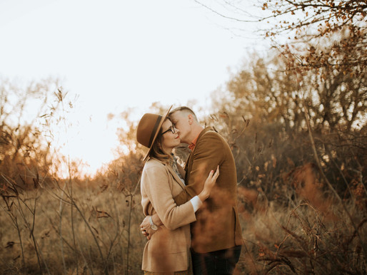 Kathleen + Blake | Bader Park Woods Engagement