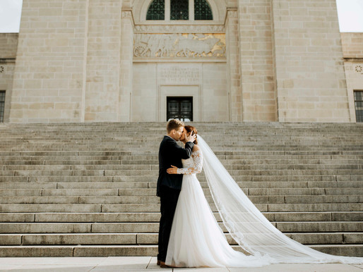 Kelsey + Chris | Downtown Lincoln Wedding
