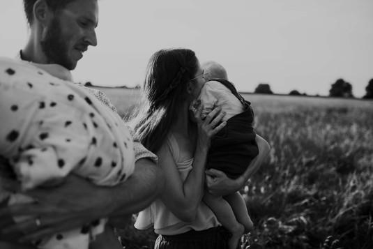Rural Nebraska Family