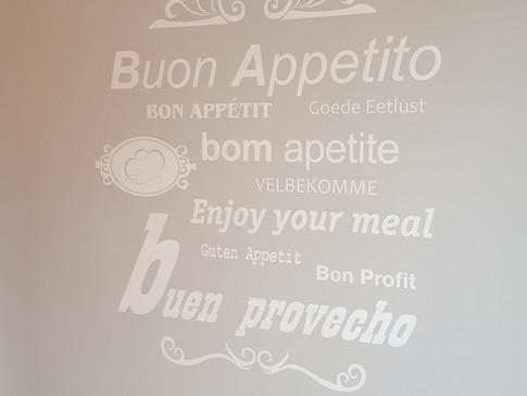 vinilo pared vinilo de corte frases vini