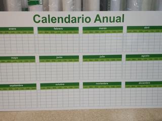 calendario anual prevención calidad cart