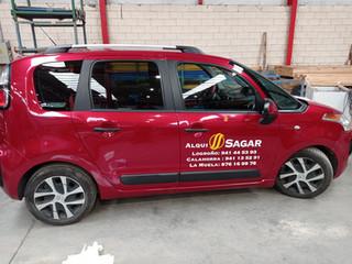 vinilo coche comercial rotular coche