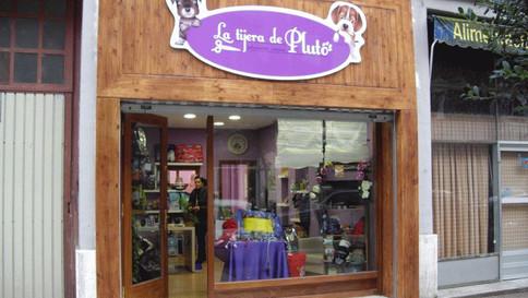 cartel tienda vinilo letras tienda