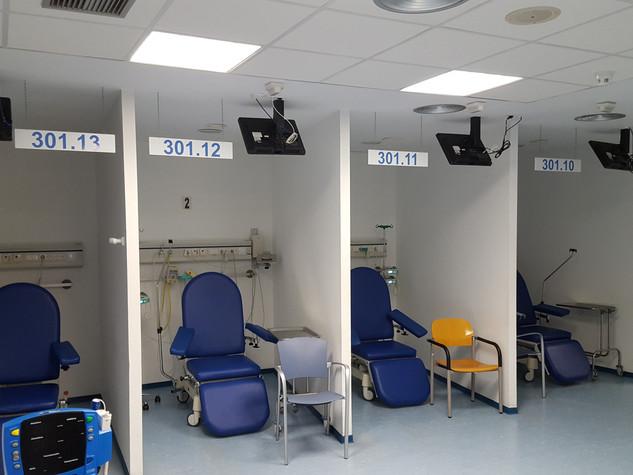 vinilos número hospitales