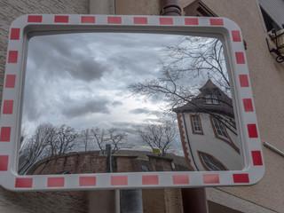 espejo exterior espejo tráfico