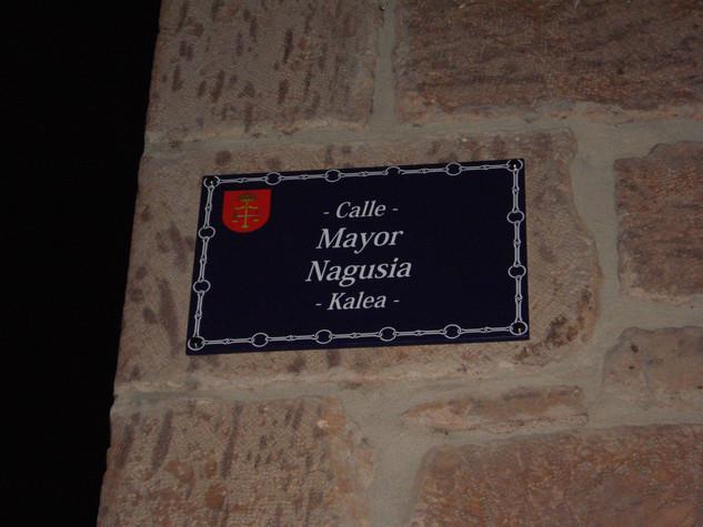 placa de calle ayuntamiento