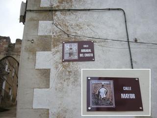 placas de calle ayuntamientos