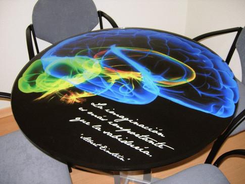 vinilo mesa vinilo cristal