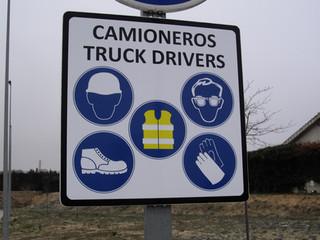 señal prevención señal advertencia