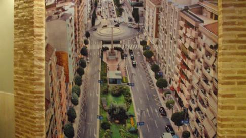 fotomural edificios fotomurales ciudad