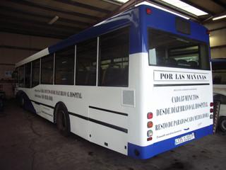 vinilo autobus
