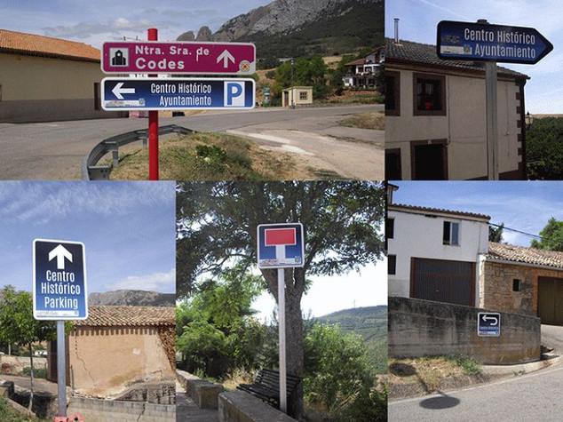 señales de tráfico señal flechas